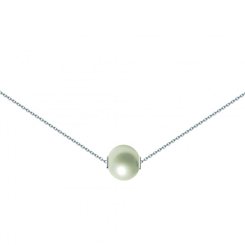 Collier en argent, perle de culture  , Perléa