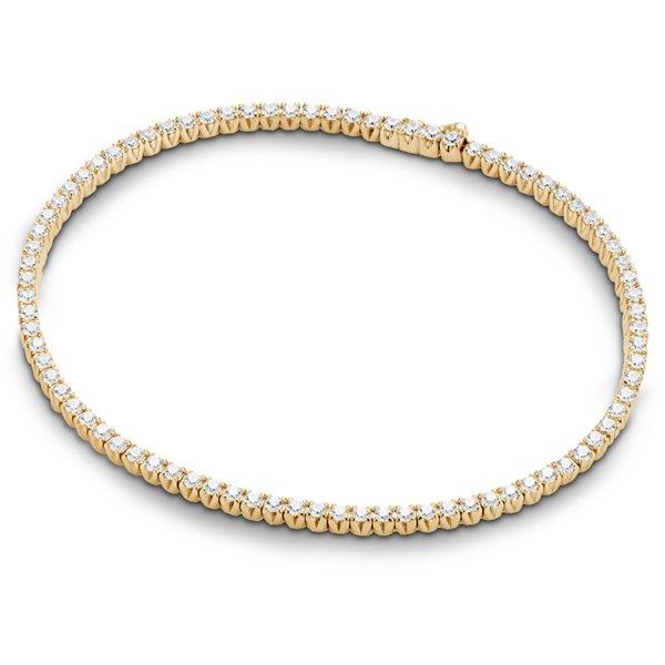 Bracelet riviere or et diamant diveene joaillerie