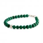 bracelet sten malachite et argent diveene joaillerie bracelet vert