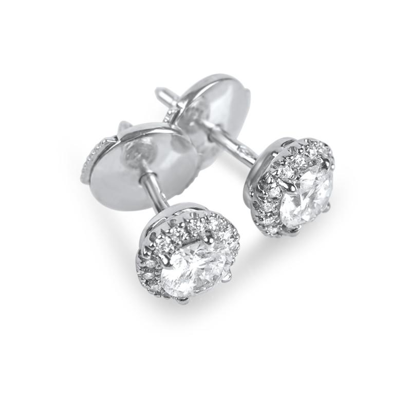 Boucles d'oreilles en or, Diamants  , UNIKA