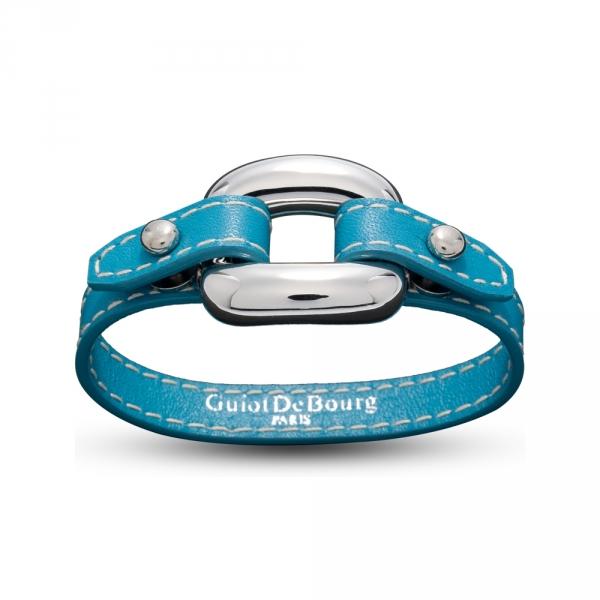 Bracelet Cuire et Argent