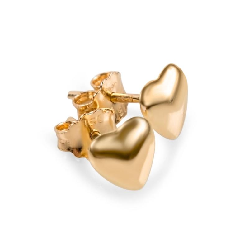 Boucles d'oreilles en or , Iris