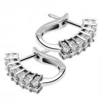 Elisa - Boucles d'oreilles or et diamants
