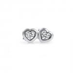 Misty - Boucles d'oreilles en or 18k et oxydes de zirconium