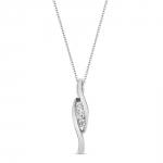 Melia - collier en or et diamants