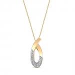 Ophélie - collier en or et diamants