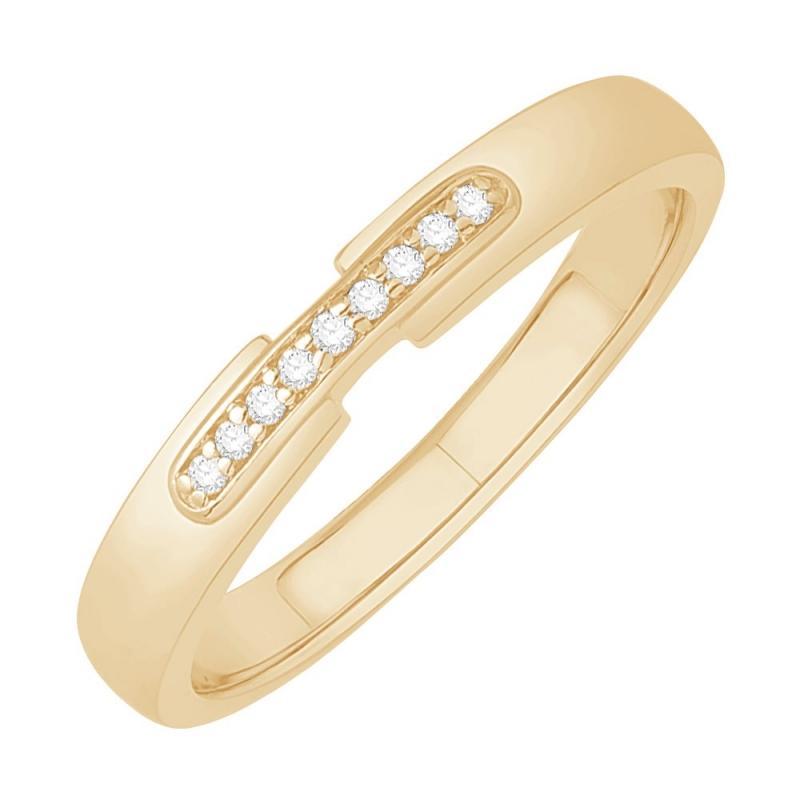 18k Yellow Gold Diamond Eternity ring , Clarissa