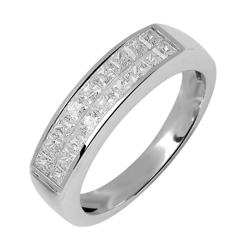 Eternity ring, 18k yellow gold , Diamonds, Sidonia