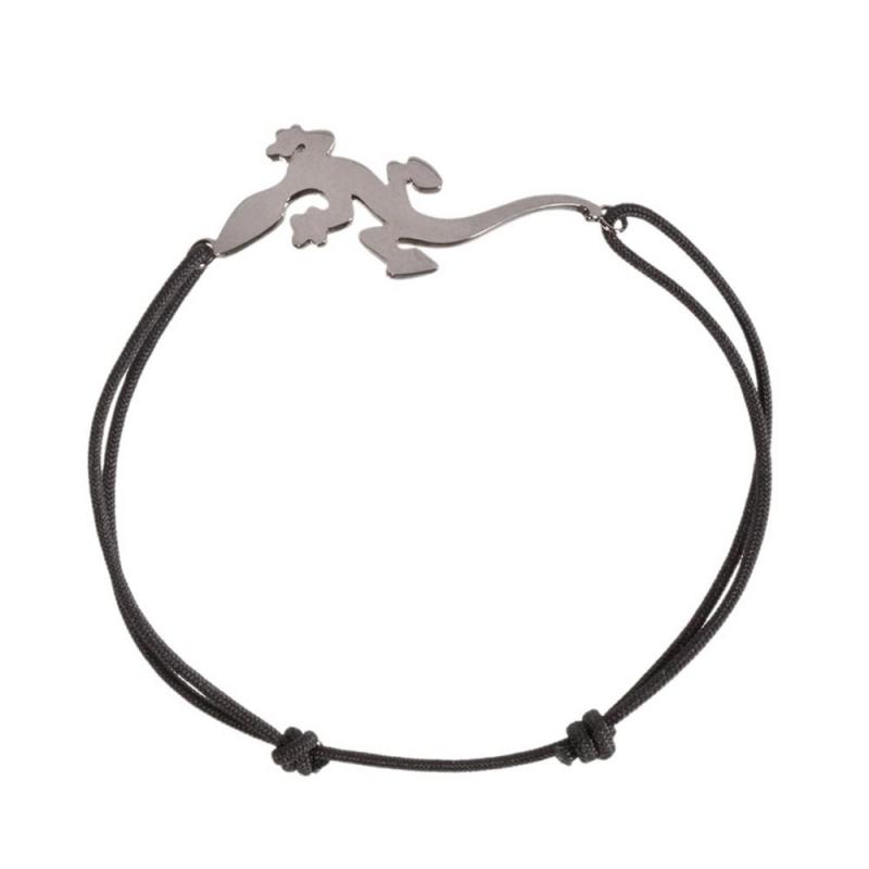 Bracelet cordon or noir , Brightness