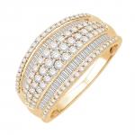 windsor bague or jaune diamants bague fiançailles mariage diveene joaillerie