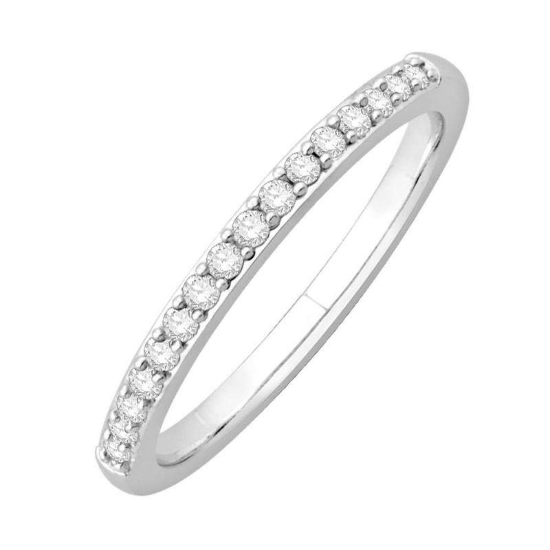 18k White Gold Diamond Eternity ring , Matilda