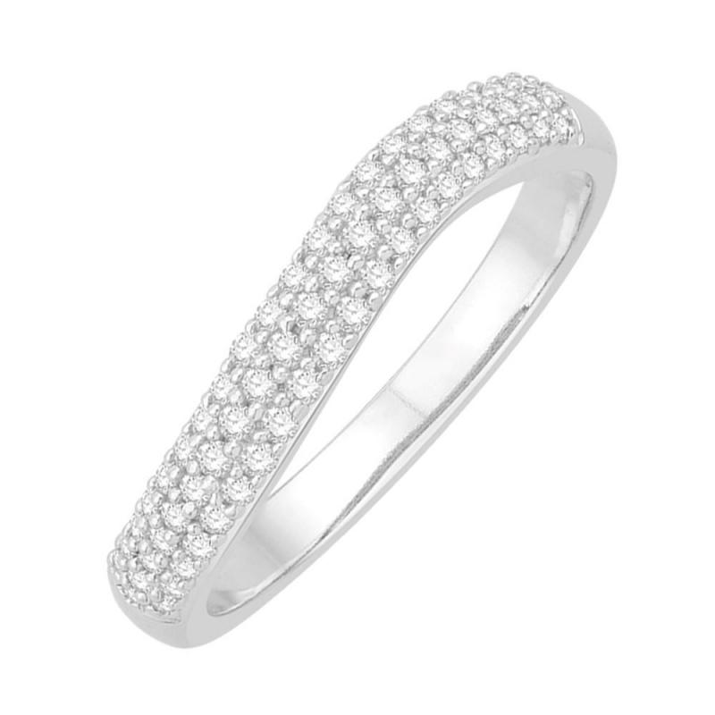 18k White Gold Diamond Eternity ring , Amanda