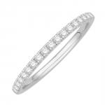 kim bague alliance or blanc et diamants diveene joaillerie