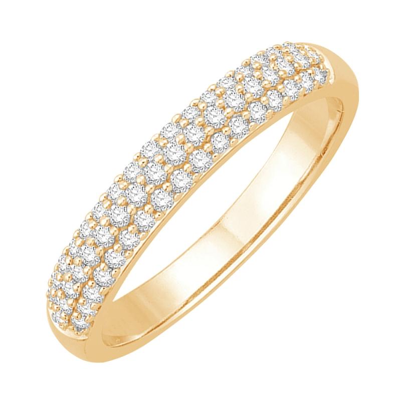 18k Yellow Gold Diamond Eternity ring , Joyce