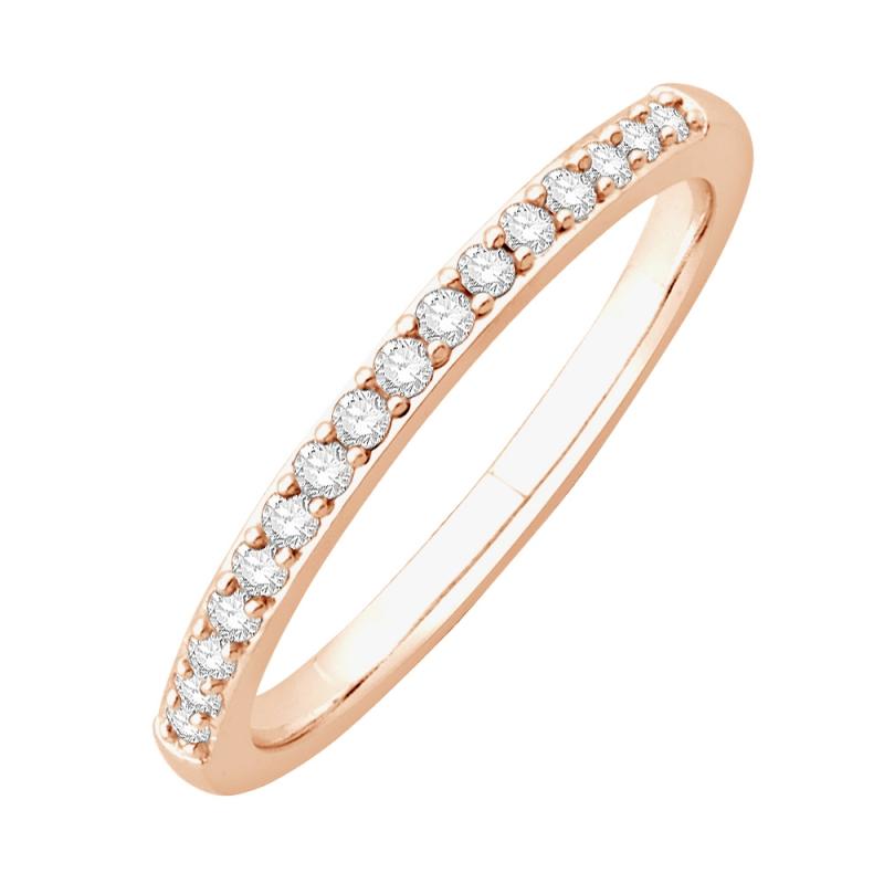 18k Rose Gold Diamond Eternity ring , Matilda