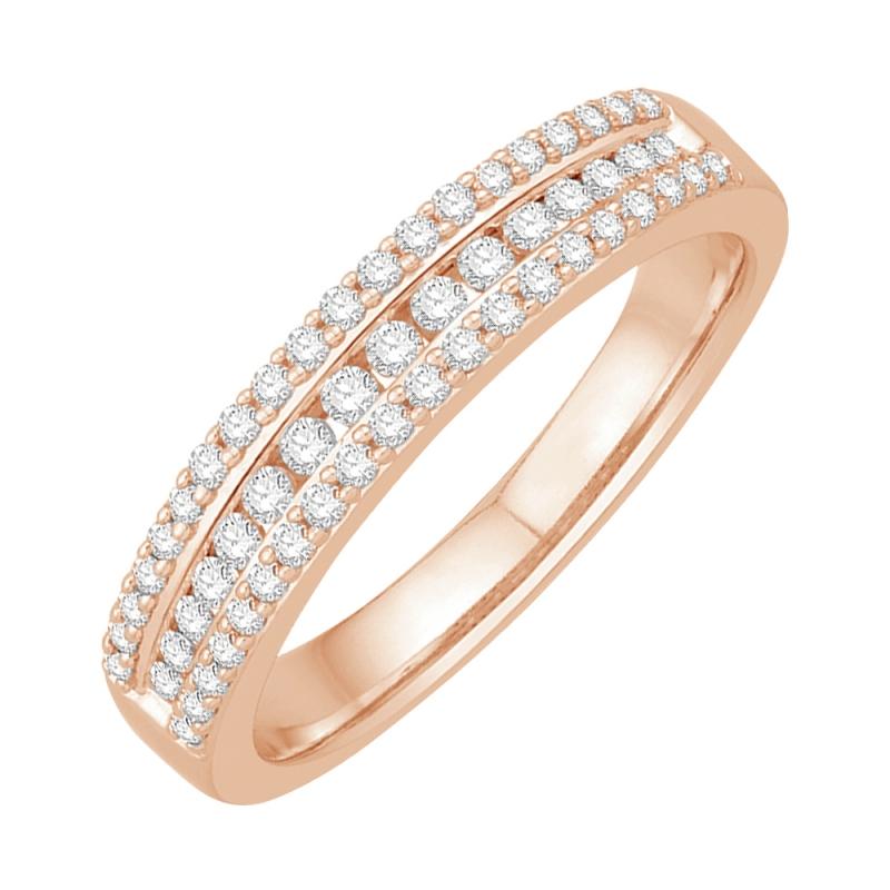 18k Rose Gold Diamond Eternity ring , Doris