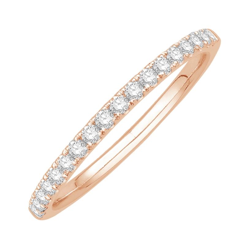 18k Rose Gold Diamond Eternity ring , Kim