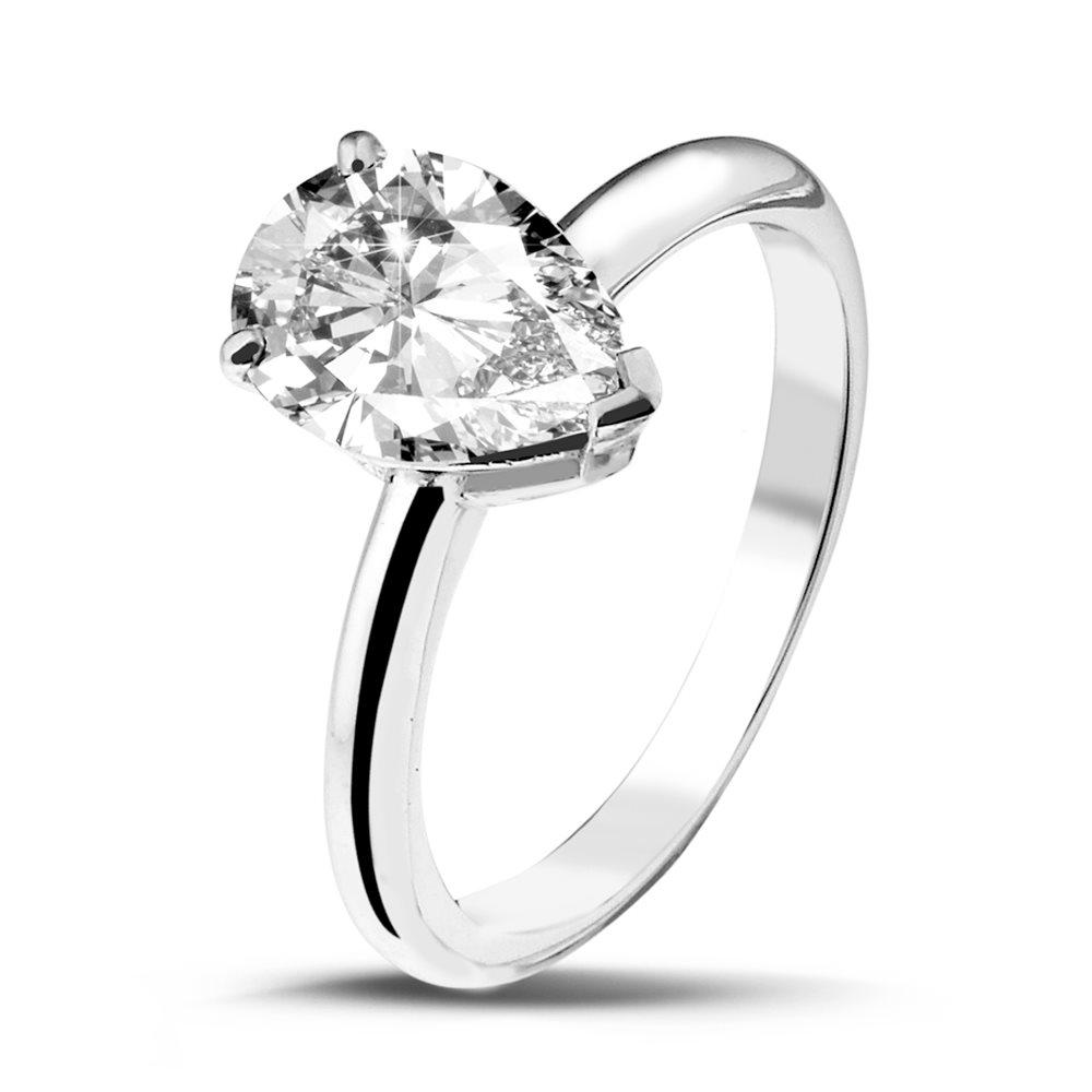 Love Junkie Solitaire en or blanc et Diamants Diveene Joaillerie