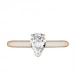Love Junkie Solitaire en or rose et Diamants Diveene Joaillerie