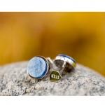 boutons de manchette sten kyanite et argent diveene joaillerie