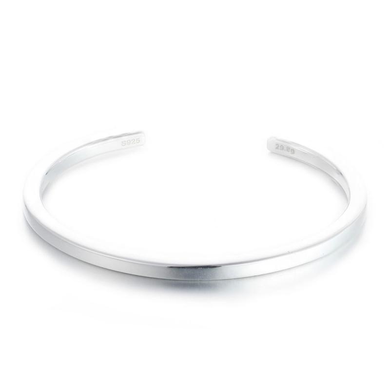 Bracelet Bangle Argent pour Homme , Trendy