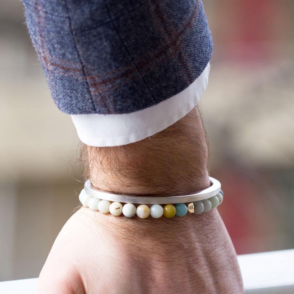 bracelet sten trendy jonc argent diveene joaillerie