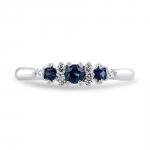 bague isabella haute joaillerie parisienne or diamants saphirs fabrication artisanale diveene joaillerie