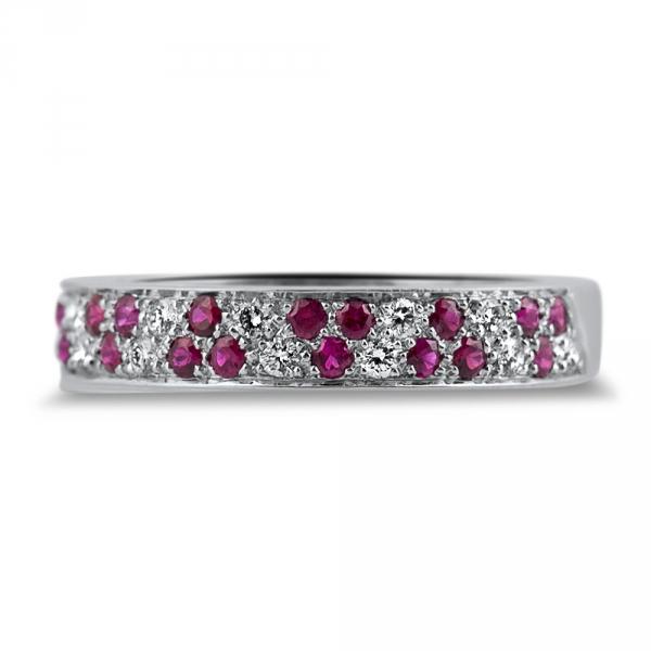 alliance paiva haute joaillerie parisienne or demi tour diamants rubis fabrication artisanale diveene joaillerie