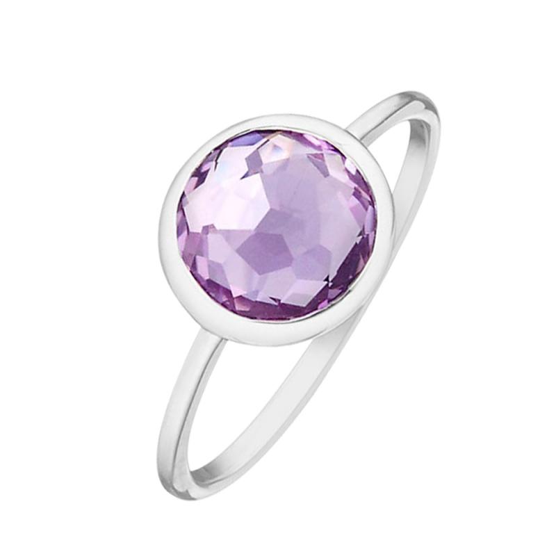 Silver Amethyst Ring , Dorys