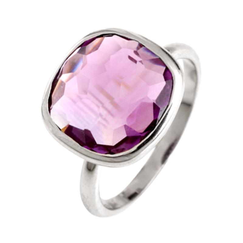 Silver Amethyst Ring , Bruna