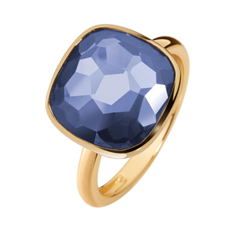 Yellow Gold Vermeil Tanzanite Ring , Bruna