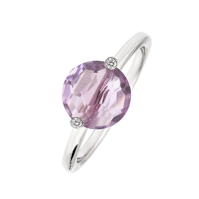 Silver Amethyst Ring, Manon