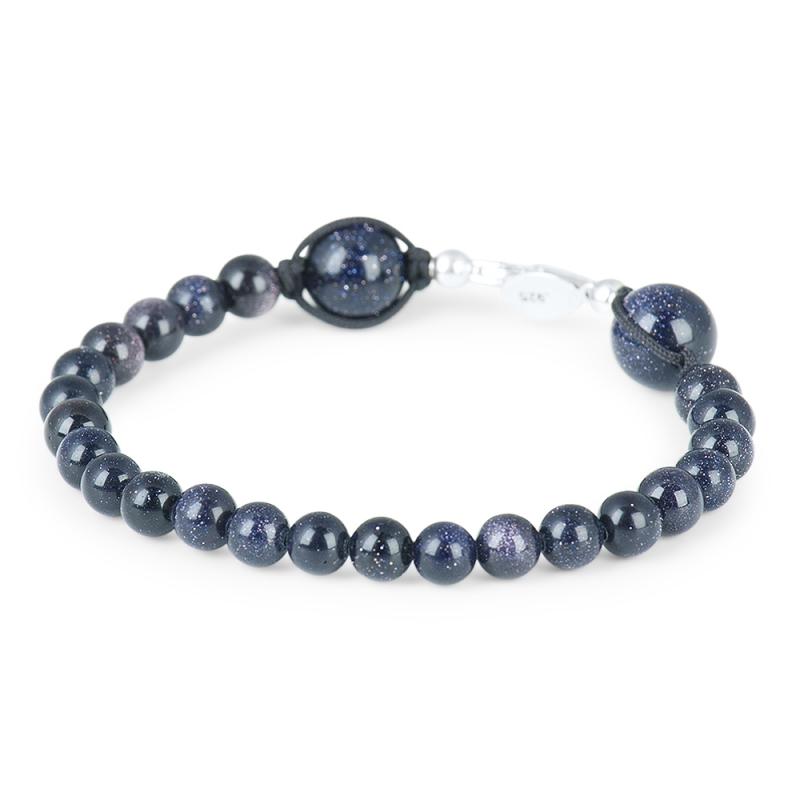 Bracelet Goldstone, Argent , Discrétion