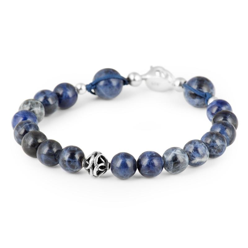 Bracelet Sodalite, Argent , Aequilibrium