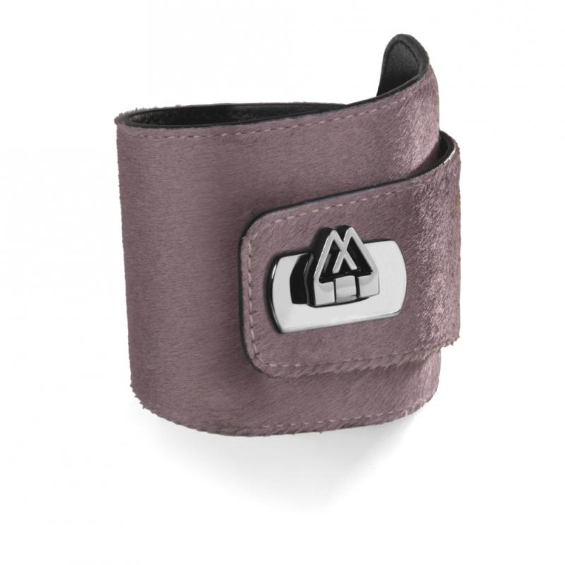 Bracelet en Cuir de Veau Grey Elephant , Cadwall