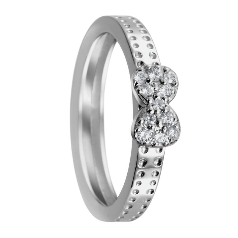 Sterling Silver Zirconia Ring, Celestine