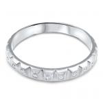 alliance pour homme dilan or blanc et diamants collection mariage diveene joaillerie