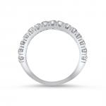 alliance naya haute joaillerie parisienne or demi tour diamants 4 griffes fabrication artisanale diveene joaillerie
