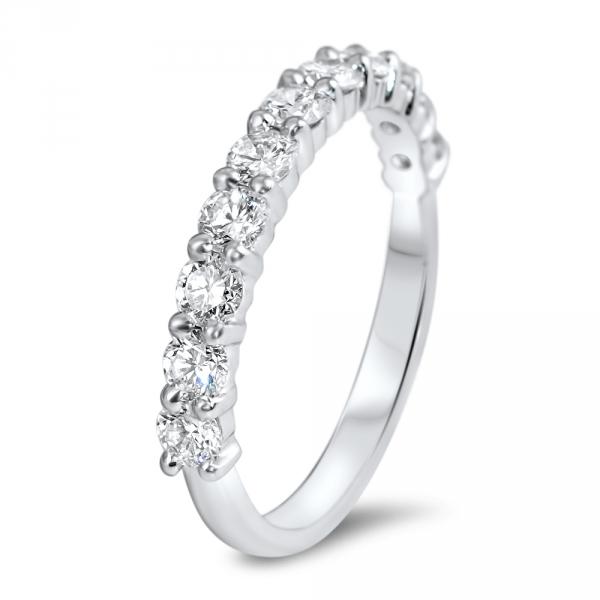 alliance hope haute joaillerie parisienne or demi tour diamants 2 griffes fabrication artisanale diveene joaillerie