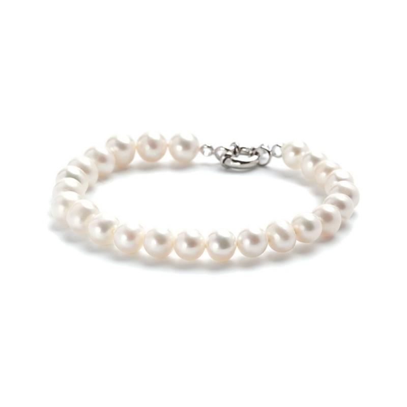 Bracelet en perles de culture d'eau douce  , Neyma