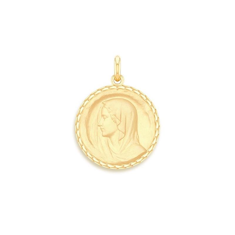 Médaille Baptême Naissance Or jaune , Régina