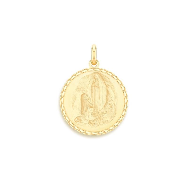 Médaille Baptême Naissance Or jaune , Apparition