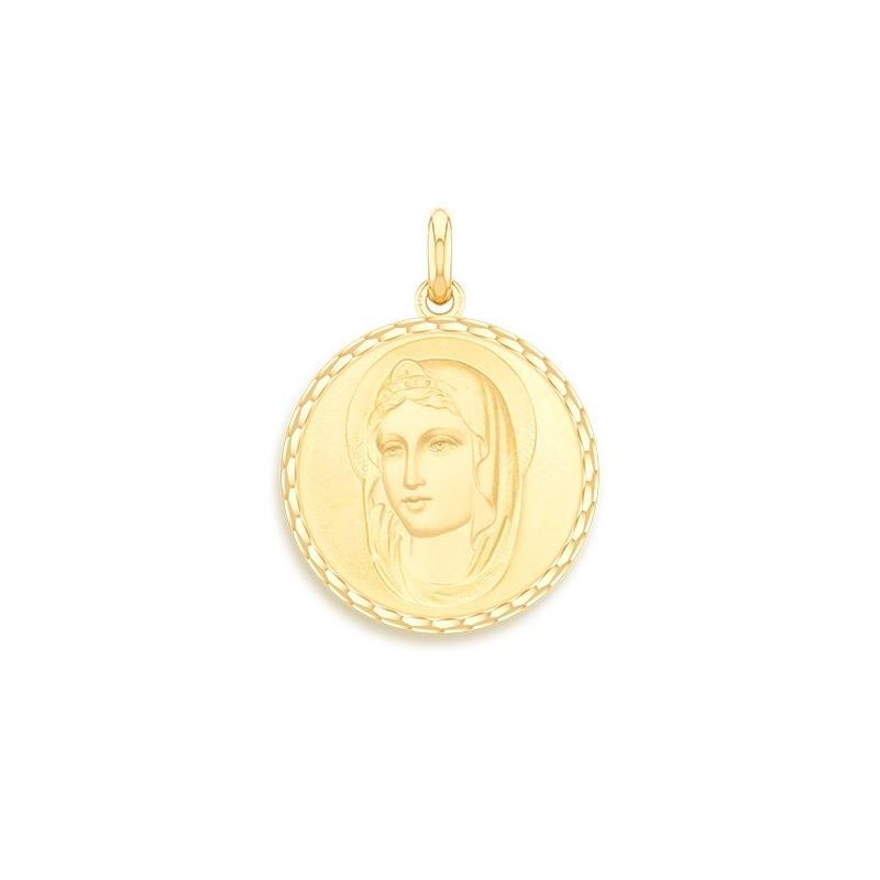 Médaille Baptême Naissance Or jaune , Sainte