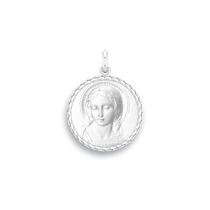 Médaille Baptême Naissance Argent , Amabilis