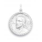 medaille bapteme naissance argent 17 mm christ des catacombes diveene joaillerie