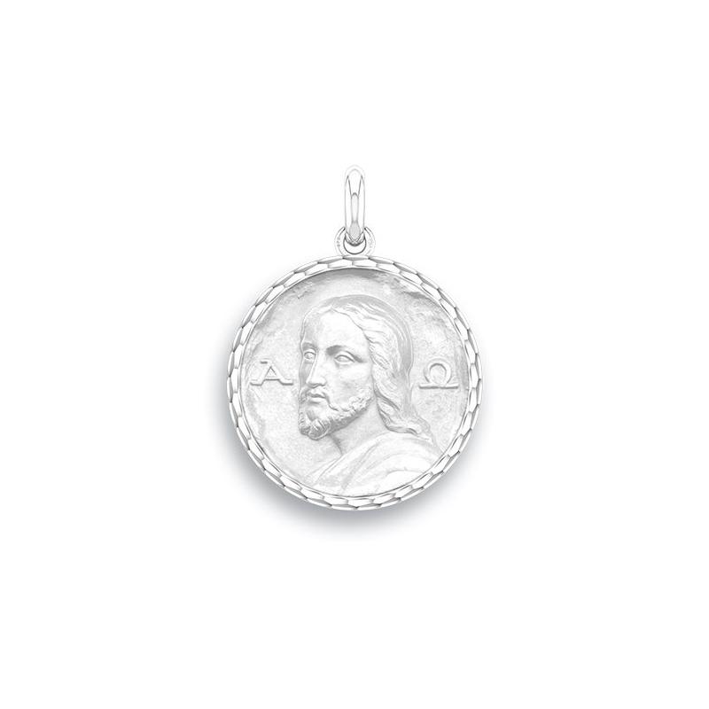 Médaille Baptême Naissance Argent , Christ Des Catacombes