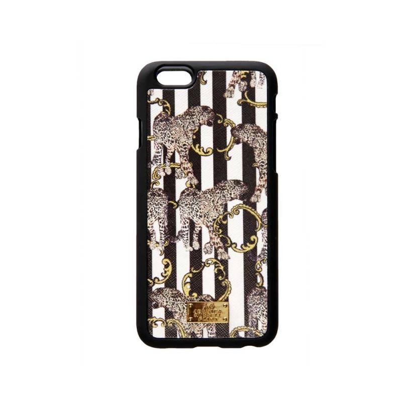 Coque Iphone 6 , Striped Léopard