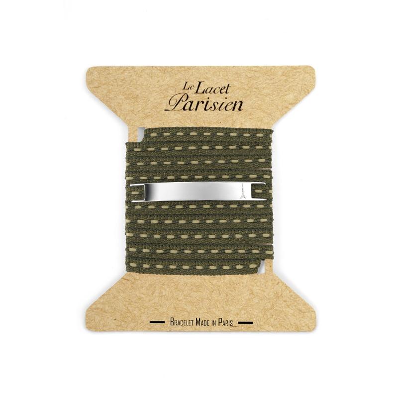 Bracelet Multi Tours Mixte en Coton Sapin , Camille