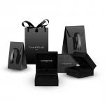 bracelet multi tours cuir et plaque argent le lacet parisien valentine diveene joaillerie bracelet noir