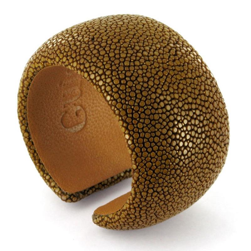 Bracelet en galuchat , Amandine 40